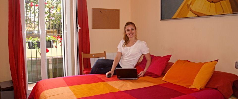 Étudiant dans notre appartement supérieur sur place